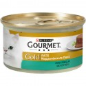 Gourmet Gold Patè con Coniglio Cibo in Scatoletta per Gatti