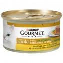Gourmet Gold Patè con Verdure con Pollo Carote e Zucchine per Gatti