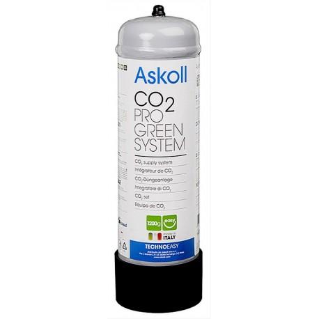 Askoll Bombola Co2 da 1200 gr Usa e Getta per Impianti Acquario