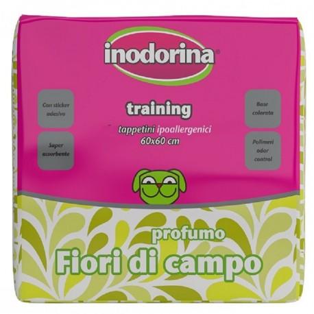 Inodorina 40 Tappetini Igienici Fiori di Campo 60 x 60 cm per Cane