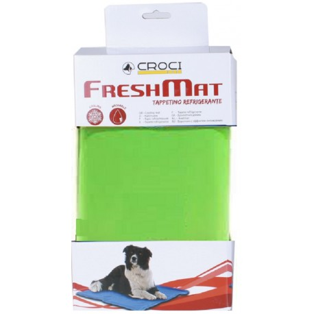 Croci FreshMat Mosquito Stop L 90 x 50 cm Tappetino Refrigerante Repellente per Cane