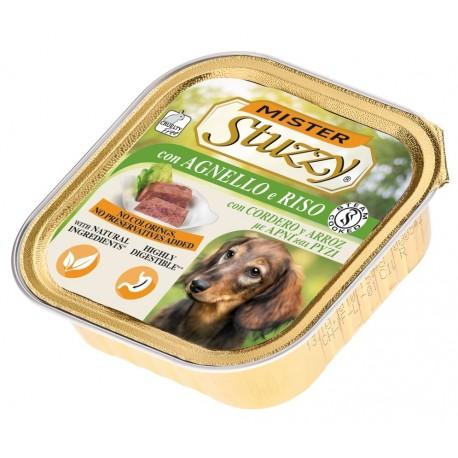 Mister Stuzzy Dog con Agnello e Riso 150 gr