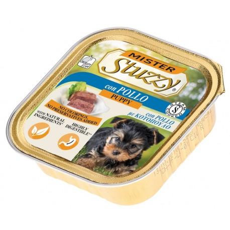 Mister Stuzzy Dog Puppy con Pollo 150 gr