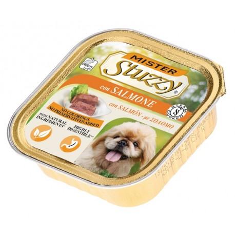 Mister Stuzzy Dog con Salmone 150 gr