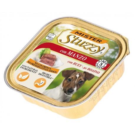 Mister Stuzzy Dog con Manzo 150 gr