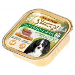Mister Stuzzy Dog con Vitello e Carote 150 gr