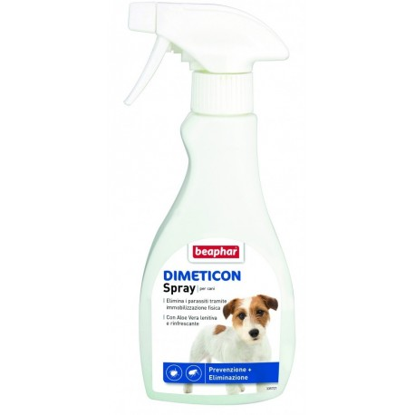 Beaphar Dimeticon Spray Antiparassitario Naturale per Cani 250 ml