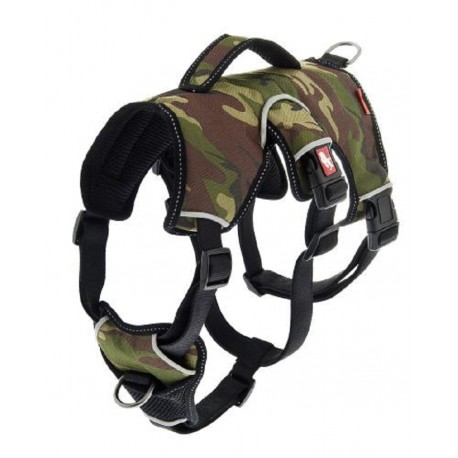 Pettorina Regolabile Camouflage Anti Fuga K2 misura L per Cane