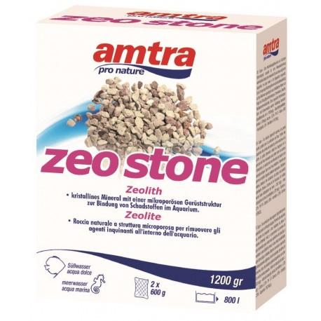 Amtra Zeo Stone 1200g Zeolite per Filtro Acquario