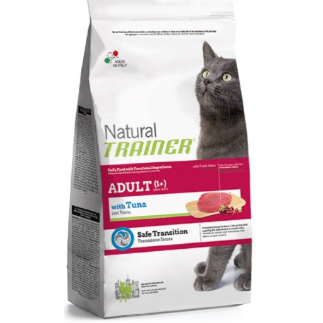 Trainer Natural Adult Cat con Tonno Kg 12,5 croccantini gatto