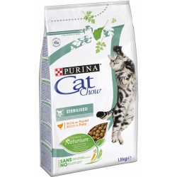Purina Cat Chow Sterilised 1,5 kg ex Tonus Croccantini per gatto
