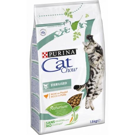Purina Cat Chow Sterilised 1,5 kg ex Tonus Croccantini per gatto