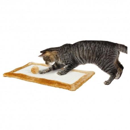 Trixie tiragraffi tappetino marrone per gatto cm 55 cod. 4325