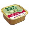 Oasy Patè Ricco di Manzo per Cane Vaschetta 150 gr