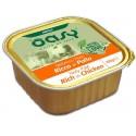 Oasy Patè Ricco di Pollo per Cane Vaschetta 150 gr