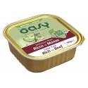 Oasy Patè Ricco di Manzo per Gatti Anziani Vaschetta 100 gr