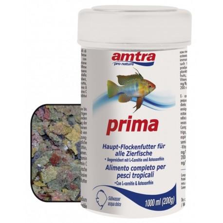 Amtra Pro Nature Prima 1000 ml Alimento in Fiocchi per Pesci Tropicali