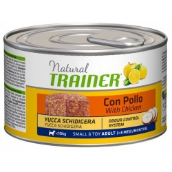 Trainer Natural Adult Small & Toy ex Mini Pollo gr 150
