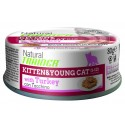 Natural Trainer Kitten & Young Cat Patè con Tacchino 80 gr per Gatti