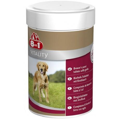 8in1 Vitality Lievito di Birra con Aglio Integratore per Cani 260 compresse