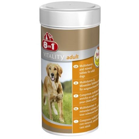 8in1 Vitality Adult Multivitaminico per Cani 70 compresse
