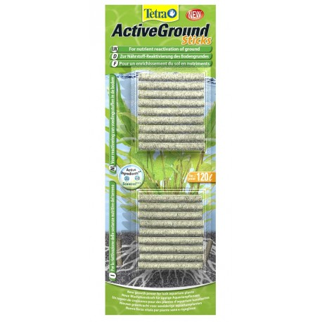 Tetra ActiveGround Sticks Attivatore per Fondale Acquario