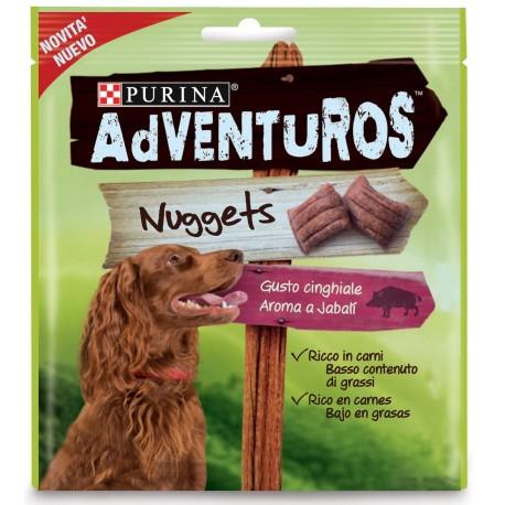 Purina Adventuros Nuggets al Cinghiale Snack morbidi per cane nuovi gusti 90g