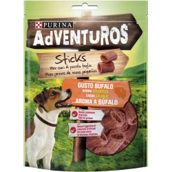 Purina Adventuros Mini Sticks al Bufalo 90g Snack morbidi per Cani
