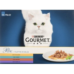 Gourmet Perle 12 x 85 gr Multipack Risparmio Cibo per Gatti