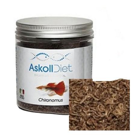 Askoll Diet Chironomus Liofilizzato 250 ml 15 gr Cibo per Pesci