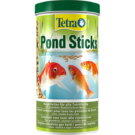 Tetra Pond Sticks 1 Lt 100 gr Mangime per Pesci da Laghetto