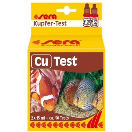 Sera Cu test misurazione Rame acquario