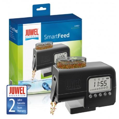 Juwel SmartFeed Mangiatoia Automatica di Mangime in Fiocchi o Granuli per Pesci