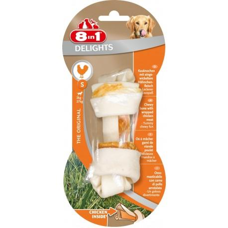 8in1 Delights S Osso con Pollo 35 gr Snack per Cane