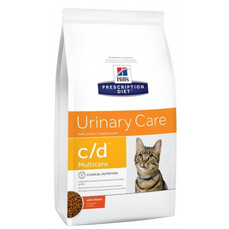 Hill's C/D Urinary Care Multicare 1.5 Kg Crocchette con Pollo per Gatti