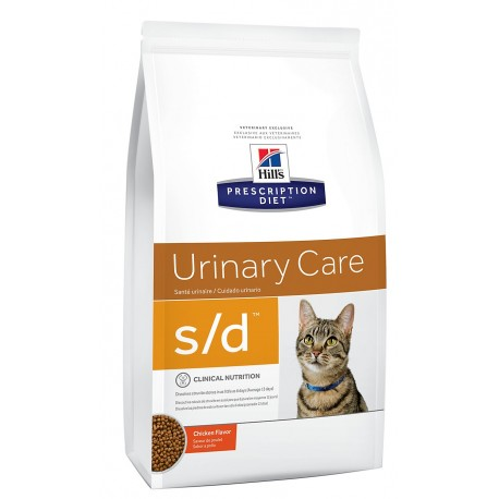 Hill's S/D Urinary Care 1.5 Kg Crocchette con Pollo per Gatti