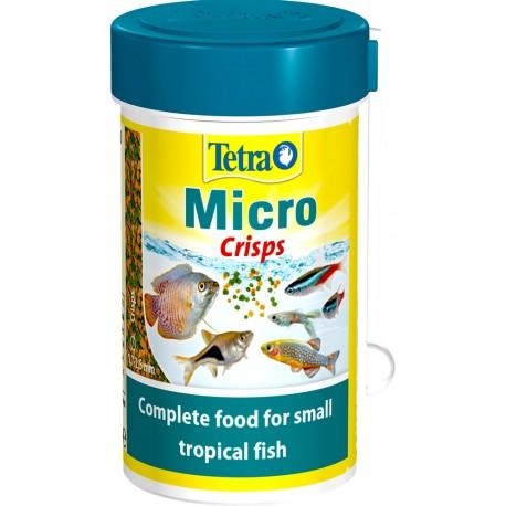 Tetra Micro Crisps 100 ml 39 g per Pesci Acquario