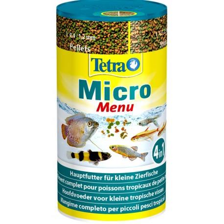 Tetra Micro Menu 100 ml 65 g Cibo misto per Pesci Acquario