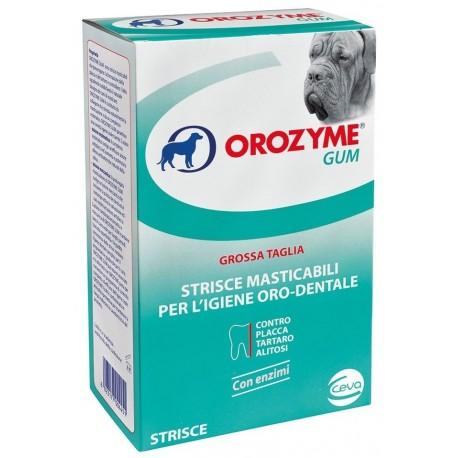 Orozyme Gum Strisce Masticabili per Igiene Dentale Cane Taglia Grande