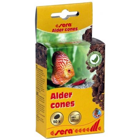 Sera Alder Cones 50 Pigne di Ontano per Acquario e Caridinaio