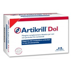 Artikrill Dol 60 perle Integratore per Osteoartrite e Infiammazioni per Cane
