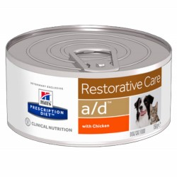 Hill's A/D Restorative Care Scatoletta 156gr per Cane e Gatto