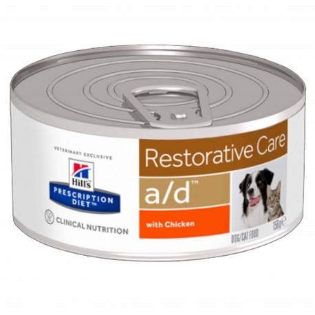 Hill's A/D Restorative Care Scatoletta 156gr per Cane e Gatto