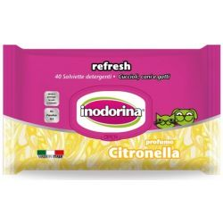 Inodorina Refresh Salviette Igieniche Citronella