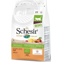 Schesir Bio 400 gr Crocchette per Gatto Sterilizzato