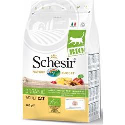 Schesir Bio 400 gr Crocchette per Gatto Adulto