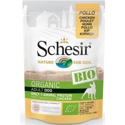 Schesir Bio Adult Dog con Pollo 85 gr Bustina Umido per Cane