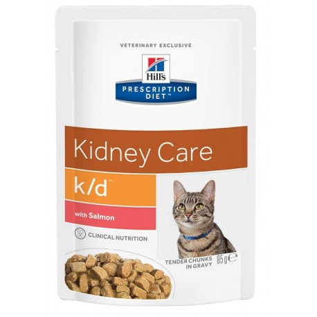 Hill's K/D con Salmone 85 g Cibo Umido per Gatto