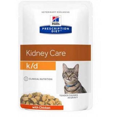 Hill's K/D con Pollo 85 g Cibo Umido per Gatto