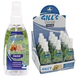 Dental Gill's 100 ml Dentifricio Spray alito fresco per Cane e Gatto